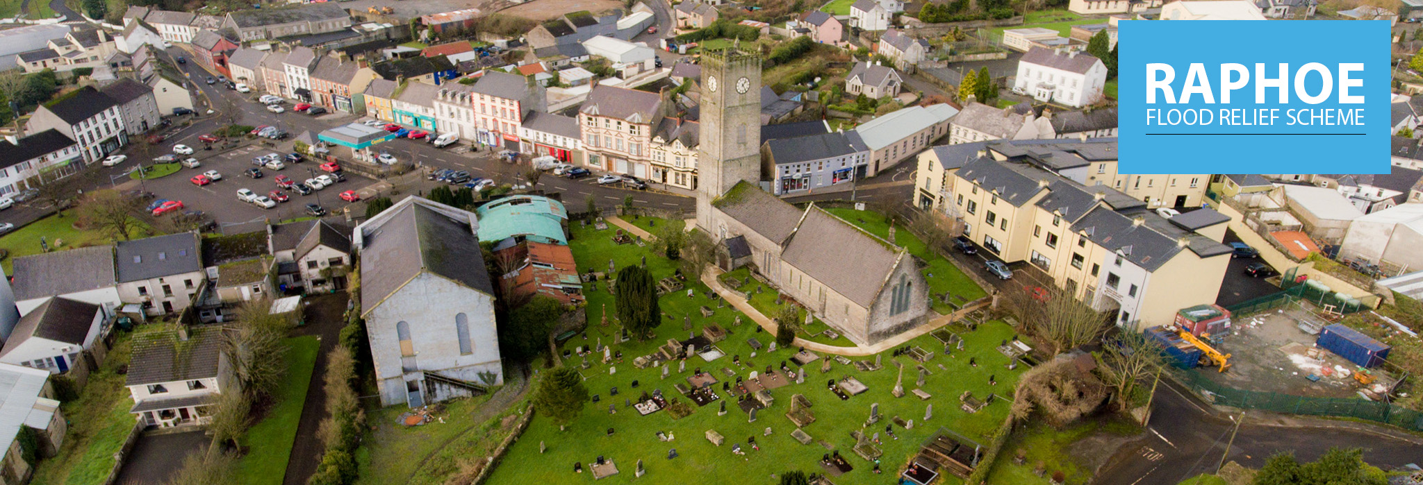 Villlage Church Aerial
